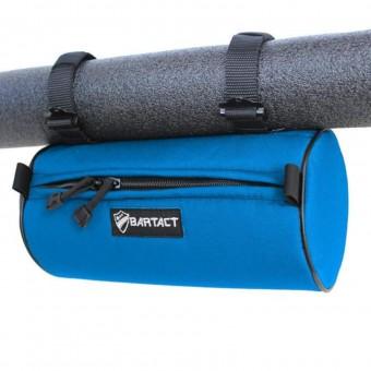 Roll Bar Barrel Bag Large 12x6 Inch Blue Bartact