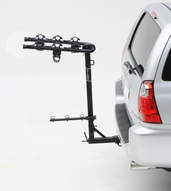 Road Runner 3, 2'' ext. Hitch Rack carries 3 bikes