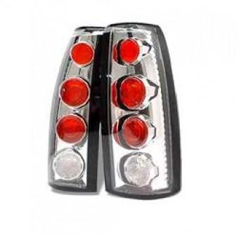 Euro Style Tail Lights - Chrome