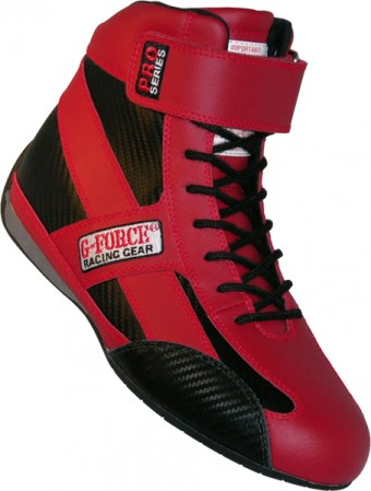 GF236 PRO SERIES SHOE SFI 3.3/5 8.5 RED