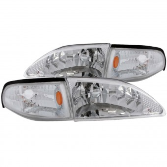 Crystal Headlight Set