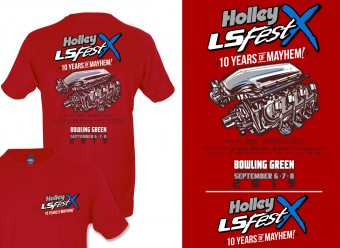 Holley LTS LSFEST MAIN EVENT ENGINE - RED
