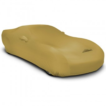 CUSTOM VEHICLE COVER SATIN STRETCH GOLD CLASS 1, Geo,Metro,1995-1997