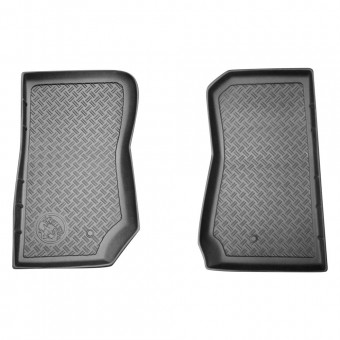 Trail Driver 2/4dr Front All Weather Floor Liners 2pc