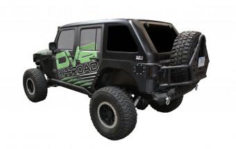 Jeep JK Hard Top Fast Back 07-18 Wrangler JK 4 Door 1 Piece DV8 Offroad
