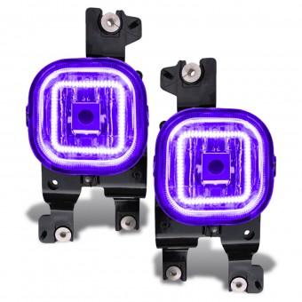 LED Fog Light Halo Kit, UV/Purple