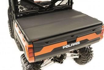 Polaris Hard Folding Bed Cover w/o Tailgate Lock (13-21 Ranger 570/900XP/1000XP)
