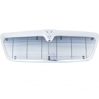 Horizontal Billet Packaged Grille Chrome