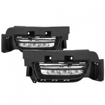 OEM LED Fog Lights with Universal Switch- Clear