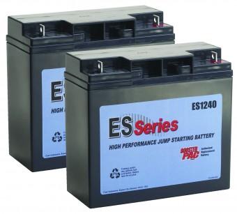 ES Series - Replacement Battery for ES6000, ES8000, ES1224 (2 Batteries)
