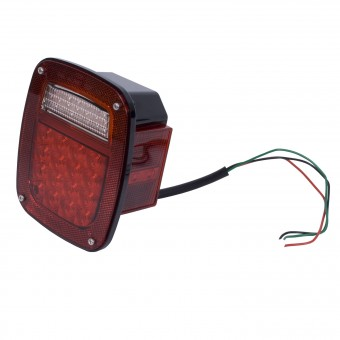 LED Tail Light Assembly, Right Side; 76-06 Jeep CJ/Wrangler YJ/TJ