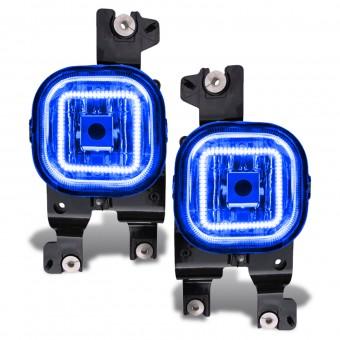 LED Fog Light Halo Kit, Blue