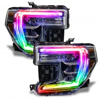 ColorSHIFT RGB+W Headlight DRL Upgrade, ColorSHIFT - No Controller