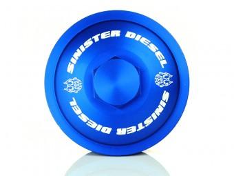 Sinister Diesel Fuel Filter Cap for Ford 6.0L