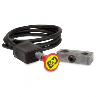Push/Pull Switch Kit, Exhaust Brake - 3/4in Manual Lever