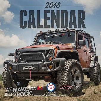 2016 Omix-ADA Calendar
