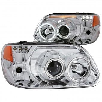 Projector Headlight Set w/Halo