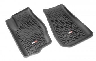 Floor Liners, Front, Blk; 07-12 Caliber /07-16 MK