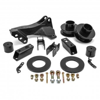"""2011-18 FORD F250/F350/F450 2.5"""" Leveling Kit with Track Bar Relocation Bracket"""