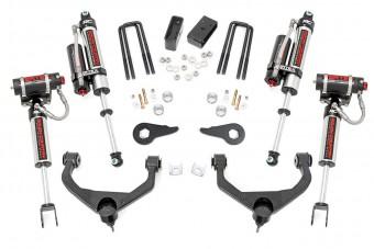3.5in GM Suspension Lift Kit w/ Vertex Shocks (11-19 2500/3500HD)