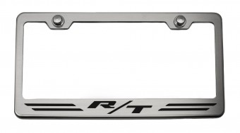 """Rear Tag Frame """"RT STRIPES"""" Synergy Green Solid"""