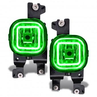 LED Fog Light Halo Kit, Green