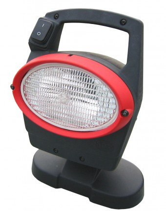 Oval 100 Xenon Work Lamp with Integrated Gen 4 Ballast (CR) 24V