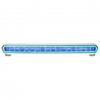 SR-L Series Marine 20 Inch LED Light Bar White With Blue Halo