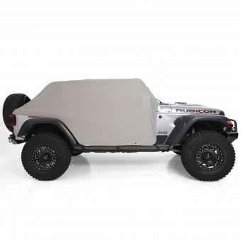 Smittybilt JL Cab Cover gray w/door flaps 4-Door 1071