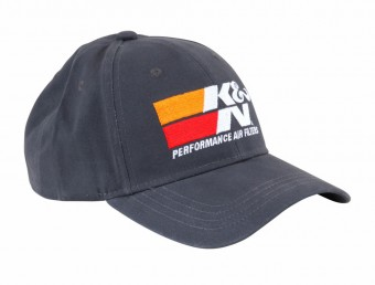 Hat; K&N Performance, Gray - One Size