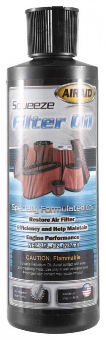 Air Filter Oil Squeeze