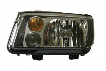 VW Jetta IV Smoke Headlamp Upgrade LH With Fog Lamp (99-04)