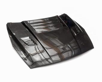 Agency Power Aeroform Gloss Carbon Fiber Vented Hood Nissan R35 GT-R 09-18 Agency Power