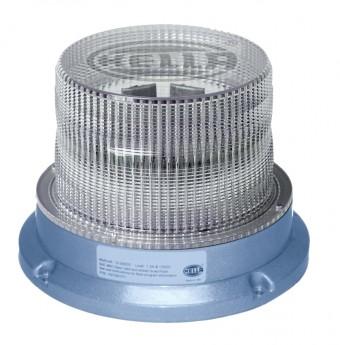 UltraRAY 4 Low-Profile Blue LED Beacon Fixed
