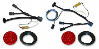 JK LED Tail & Reverse Lights & Wiring Harness Kit Poison Spyder
