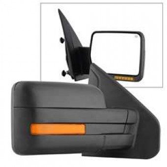 POWER Heated Amber LED Signal OE Mirror - Right