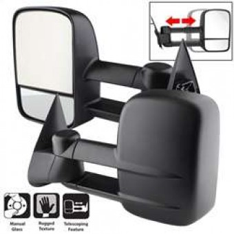 L&R Manual Extendable - MANUAL Adjust Mirror.