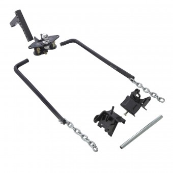 Smittybilt WEIGHT DISTRIBUTING HITCH WITH ADJUSTABLE BALL MOUNT AND SHANK UNIVERSAL 87550