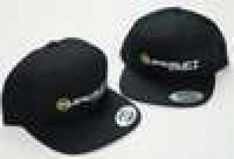 Flat Bill Hat - Black