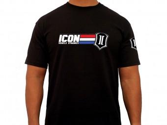 ICON GI TEE BLACK - XLARGE
