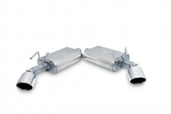 Axle Back Dual Exhaust System, Stainless