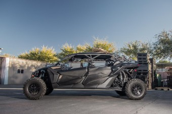 Agency Power Carbon Fiber Front and Rear Door Package Can-Am Maverick X3 Agency Power
