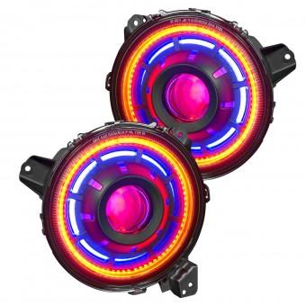 Oculus ColorSHIFT Bi-LED Projector Headlights, ColorSHIFT - No Controller