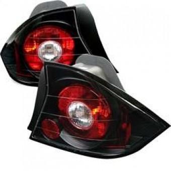 Euro Style Tail Lights - Black