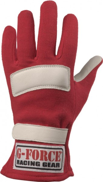 GF G5 GLOVES SFI 3.3/5 LARGE RED