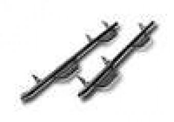 Nerf Step - W2W w/o Bed Acs (2 Stps) - 04-08 F150 5'6 SuperCrew - Gloss Blk