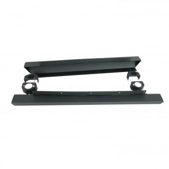 Heavy Duty Rock Slider Black