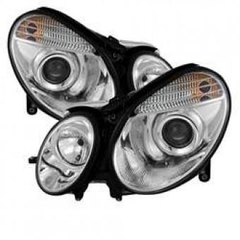 Projector Headlights - Xenon/HID - Chrome - High H7