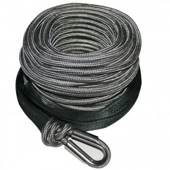 AR Synthetic Winch Line 9mm x 100', 6 to 8k