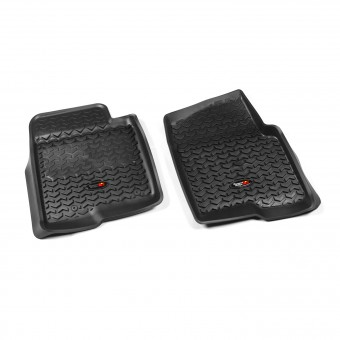Floor Liners, Front, Black; 11-14 Ford F-150